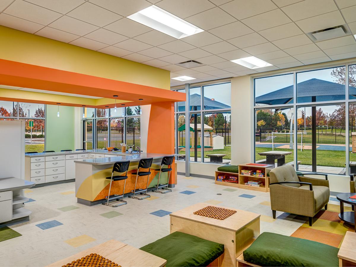 Lexmark International, Inc. childcare facility case study | Hixson Architecture