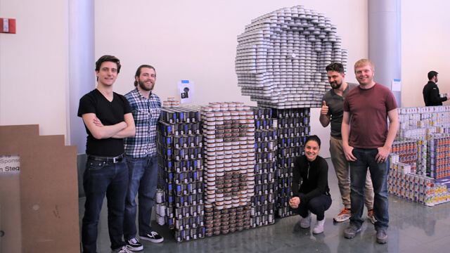 Hixson associates participate in Cincinnati Canstruction