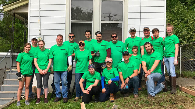 Associates participate in community service
